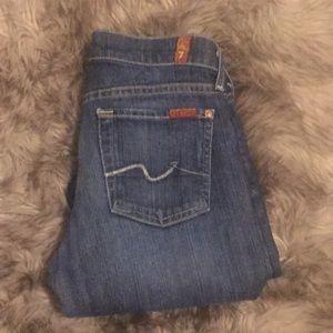 7 for all mankind boyfriend jeans inseam is 32